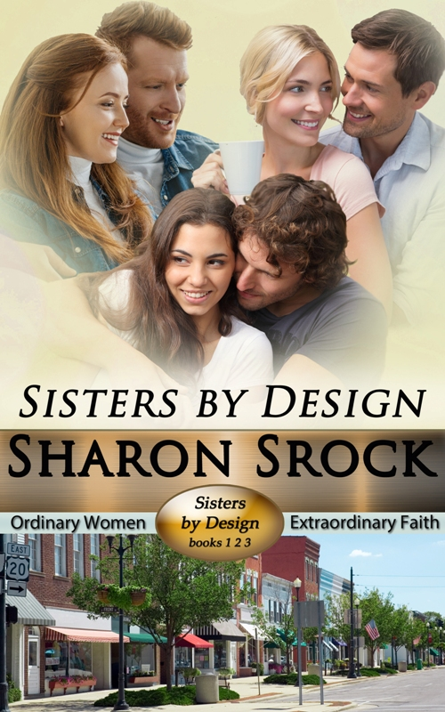 Book Cover: Sisters by Design, books 1-3